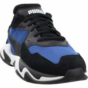 Puma-Storm-Adrenaline-Lace-Up-Sneakers-Casual-Black-Mens