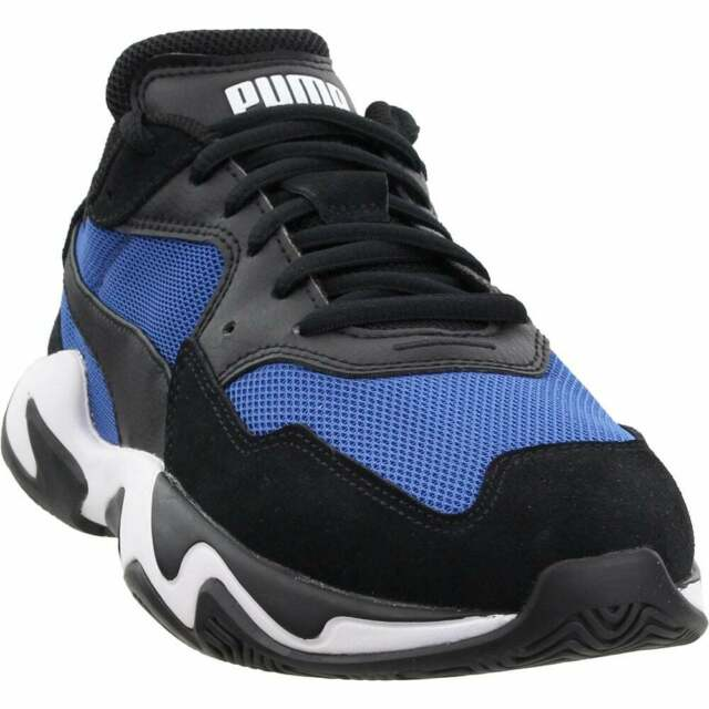 Puma Storm Adrenaline Lace Up  Mens  Sneakers Shoes Casual   - Black