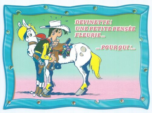 "CPM Postcard LUCKY LUKE /"" EDITION YVON /"" N° 25 21 0434 /"" CARTE POSTALE"