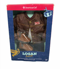 Logan Everette of American Girl with extra performance outfit