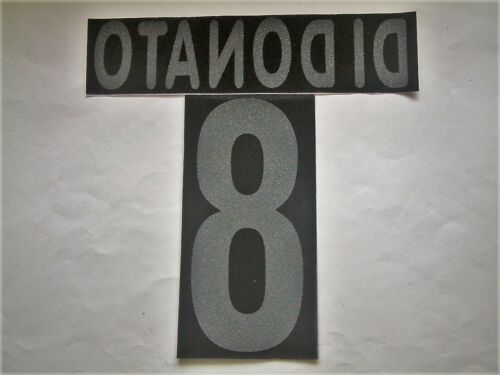 Details about  /KIT NAME NUMBER Official Palermo Home//Away 2001//2005 Official Nameset Flock