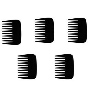 5Pcs-Peigne-en-Plastique-Super-Large-Peigne-a-Dents-Sans-Peigne-Statique-Ba-X8N6