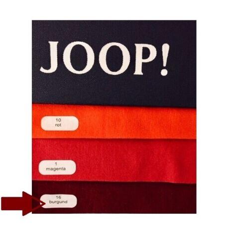 JOOP Spannbetttuch Feinjersey 90//100x200//220 cm Farbe 16 Burgund