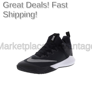 Nike Men's Zoom Shift Basketball shoes US Black White 11 M US