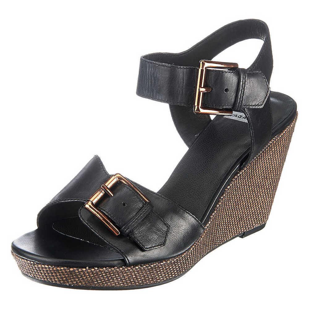 cuir//stretch Noir Femmes NEUF Slowlies 400 Comfort Pantoufles