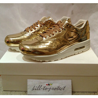 best cheap 68be0 8a3db ... norway nike wmns air max 1 liquid metal gold us uk5 6 7 8 9 10