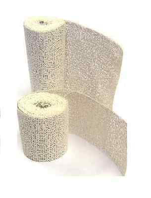 8 ROLLS x 8cm x 3 Metres MODROC PLASTER OF PARIS SCUPLT MODELLING CRAFT BANDAGE