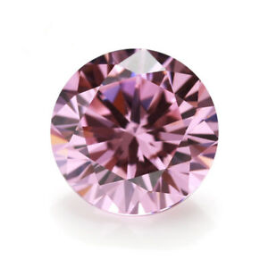 Many-Small-Size-100Pcs-For-Pink-Zircon-Round-Cut-AAAAA-VVS-Loose-Gemstone