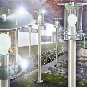 Wegeleuchte Wegelampe Außen Lampen Leuchten Garten Beleuchtung Edelstahl Neu