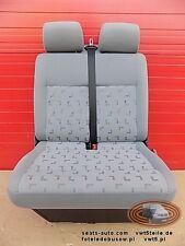 VW T5 Sitzbank Sitz Beifahrersitz 2er Doppelbank  LLL