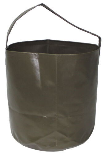 Fox Outdoor 10ltr collapsible folding PVC water bucket for Camping /& fishing