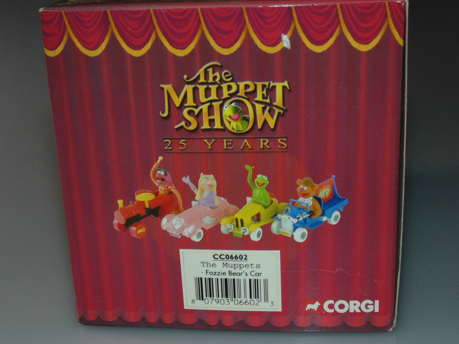 Corgi The Muppet Muppet Muppet Show 25 Years Fozzie Bear car Muppets Collectable 3f241b