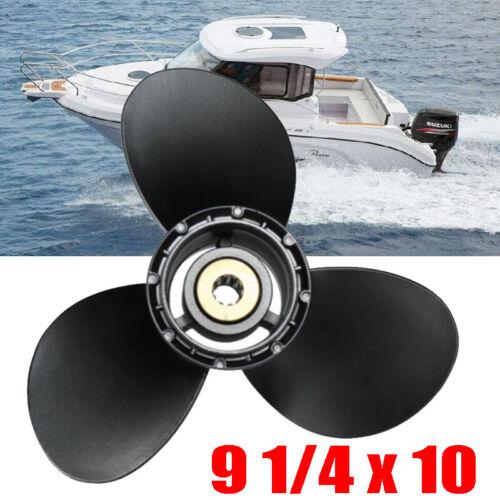 9 1//4 x 10 Aluminium Propeller für Suzuki Außenborder 15-20 PS 58100-93733-019