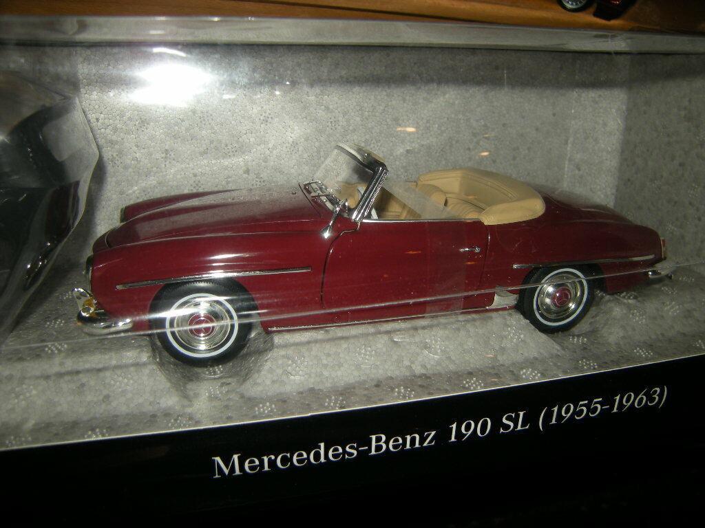 1 18 Norev Mercedes-Benz 190 SL W121 mittelred Red No B66040647 BNIB