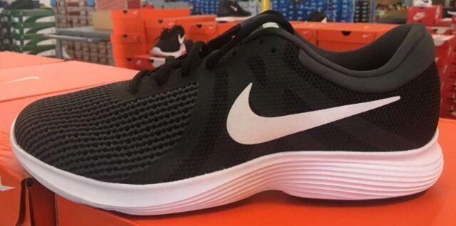 huge selection of 63655 6c862 Nike Revolution 4 Men's Running/Training Shoes Black/White 908988 001 KHS