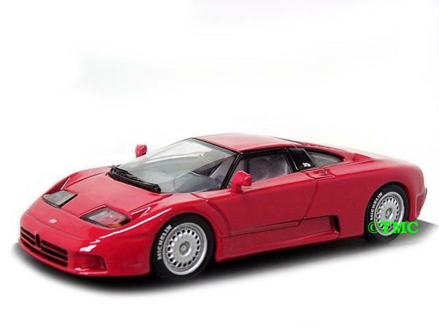 Bugatti eb 110 1991-1995 rojo Minichamps 1 1 1 43 2ec1cd