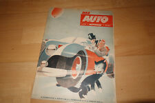 DAS AUTO - Zeitschrift - Heft 4 1949 Adler M100 Brüsseler Autosalon Rennmotoren