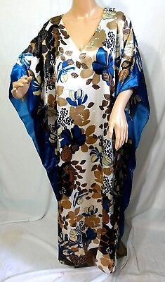 Jonathan Martin Femme Plus One Taille Libre Brillant Bohémien Caftan ... 47703d48f9c