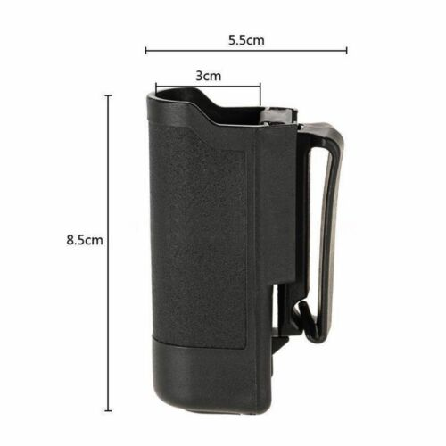 Tactical Flashlight Pouch Case Bag Holster For LED Flashlight Torch Black//Earth