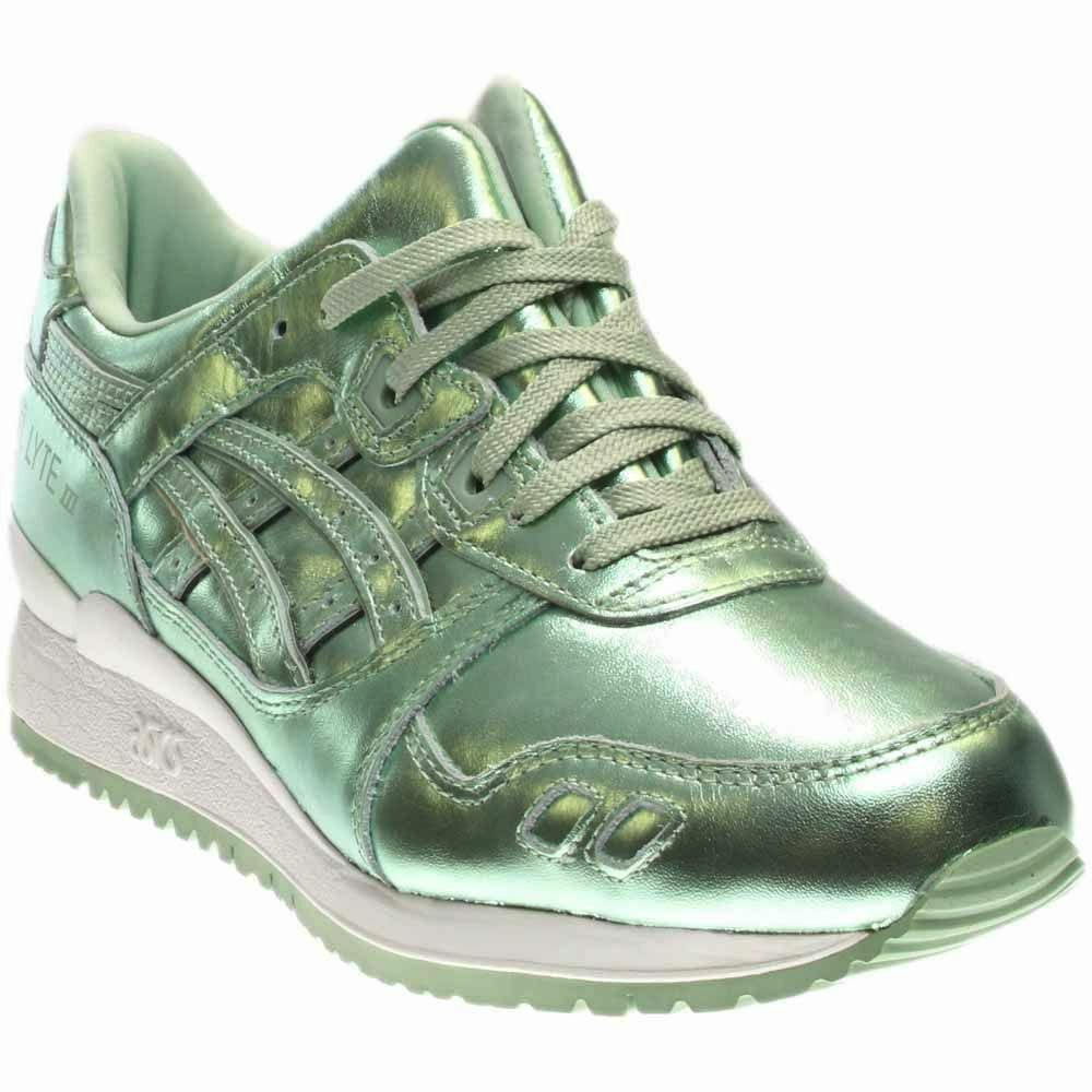New Mujer ASICS gel-lyte III corriendo / Casual Shoes casual 9 / Metallic Verde casual Shoes salvaje 495089