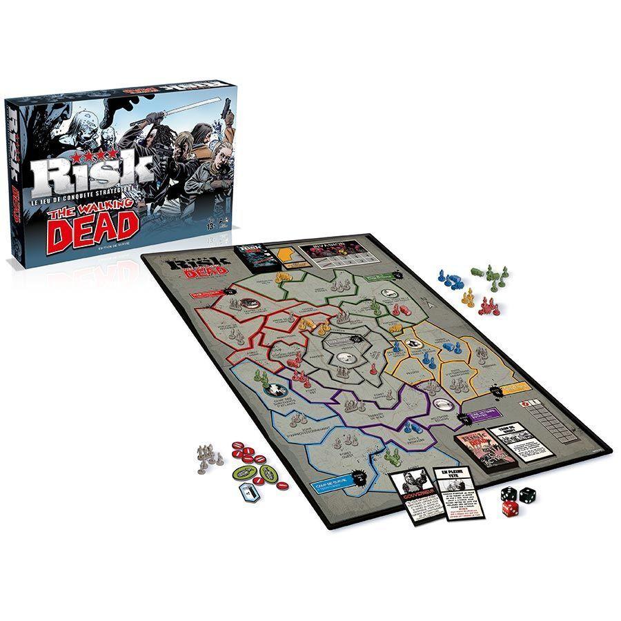 The Walking Dead - Riesgo La juego de conquista estratégica   Versión Française
