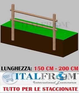 Recinzioni Per Giardino In Legno.Staccionata Steccato Recinzione In Legno Di Pino 2 Fori A