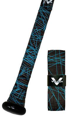 VULCAN ADVANCED POLYMER BAT GRIPS STANDARD 1.75 MM ELECTRIC BLUE LAZER