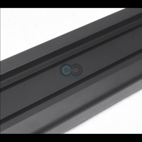 """Fits 07-19 Toyota Tundra Double//Crew Cab 6/"""" Matte Blk OE Aluminum Running Boards"""