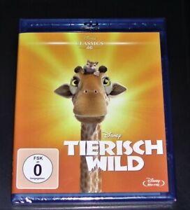 Tierisch Wild Walt Disney blu ray Classics 46 Neuf & Emballage D'Origine