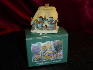 LILLIPUT LANE Honeysuckle Cottage Dream Cottage Miniatures 1995 271 Boxed