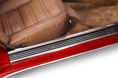 Black Color Pair 1968-1977 C3 Corvette Kick Panels Left and Right