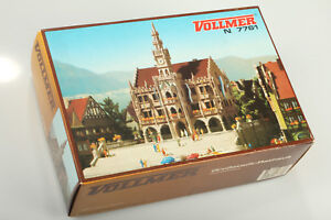 N-Vollmer-7761-Classique-Hotel-de-Ville-Verm-Pas-Utilise-Emballage-D-039-Origine