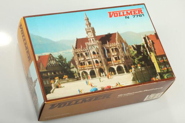 N VOLLMER 7761 classique Hôtel de Ville verm. pas utilisé emballage d'origine