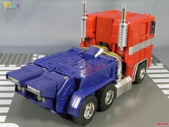 HOT Transformers Alloy Edition MP10-V Optimus Prime container car in stock MISBc