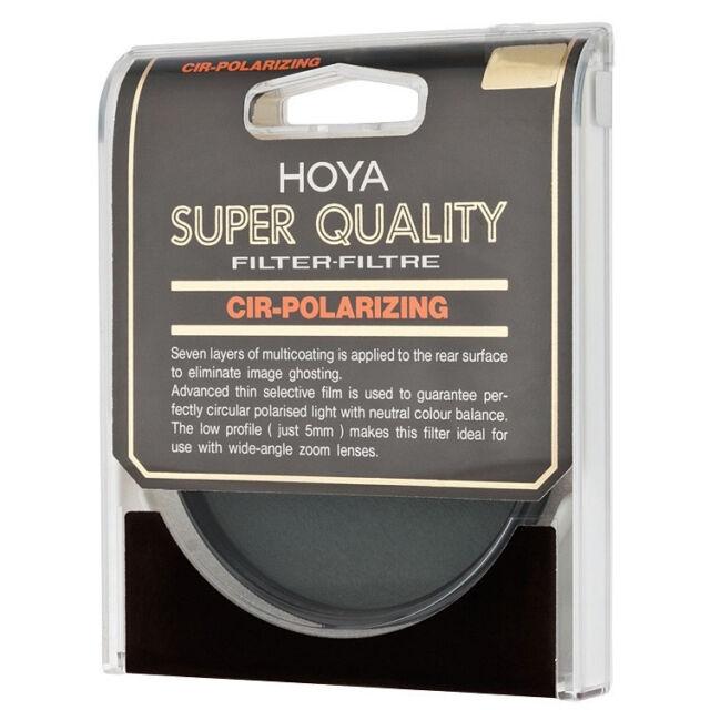 cf5a3dd8b5 NEW Genuine HOYA 72 mm CIRCULAR POLARIZING SUPER HMC MULTI-COATED GLASS  FILTER