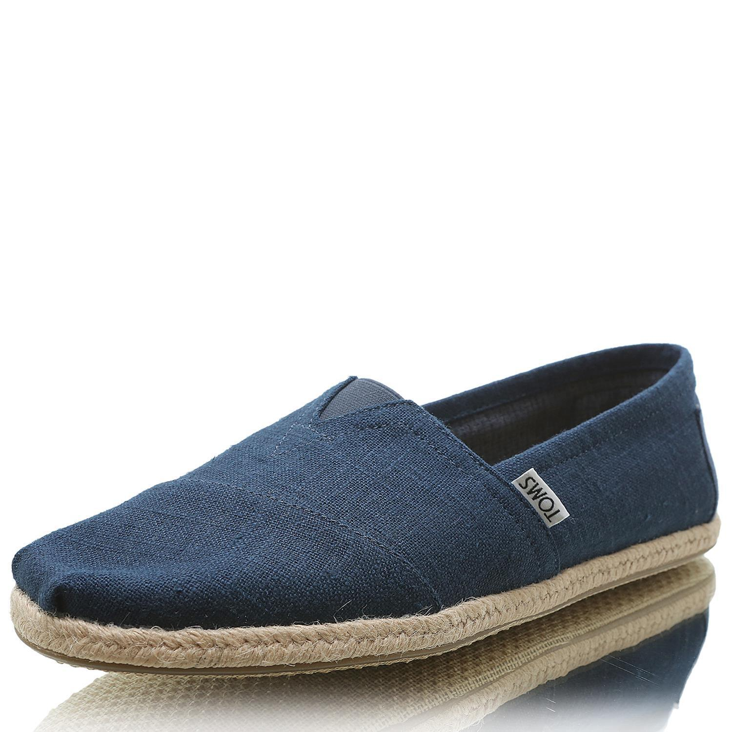 10008553 MN Linen Rope Sole navy