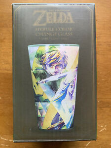 Two (2) The Legend Of Zelda Hyrule Color Change Glasses In Boxes Free Shipping