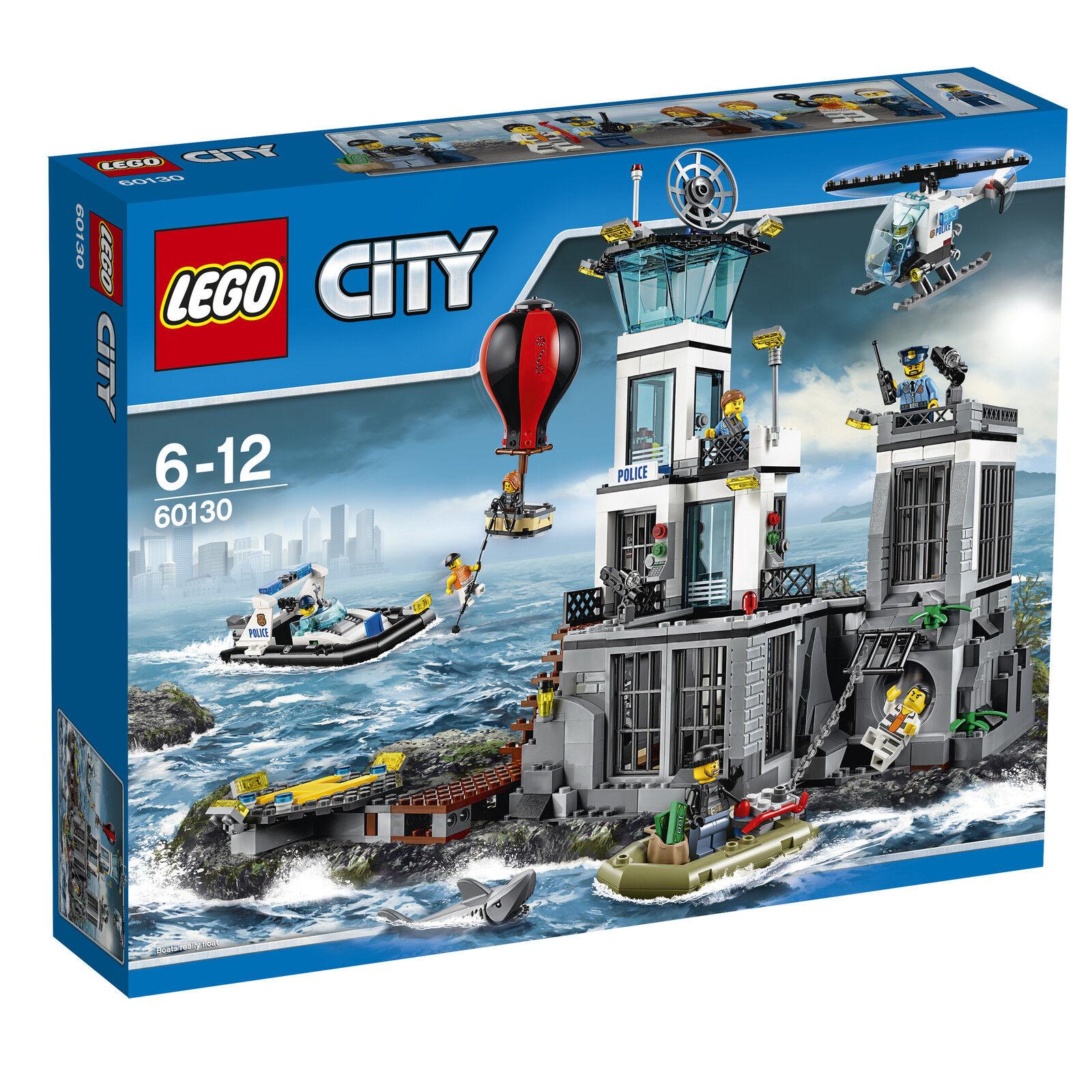 LEGO ® City 60130 polizia quartier sull'isola prigione NUOVO _ Prison Island New