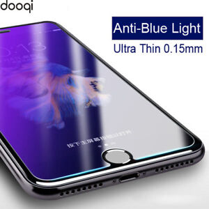 on sale ce143 8fa91 Details about Dooqi Anti-Blue Light 0.15mm Tempered Glass Screen Protector  for iPhone 8 Plus