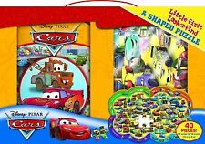 Disney Cars Little First Look and Find and Puzzle, Disney Storybook Artists, Cal