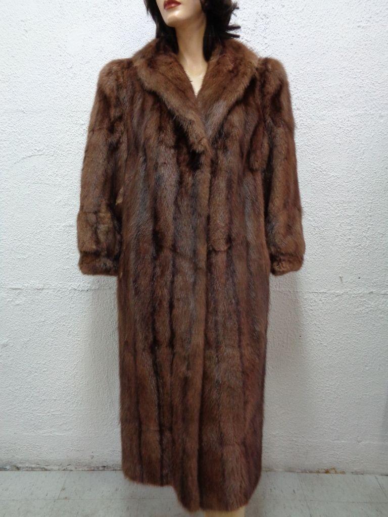 Como Nuevo De Colección Chaqueta de Abrigo de  piel de ratas almizcleras Mujer Mujer Talla 6-8 pequeñas y medianas  Seleccione de las marcas más nuevas como