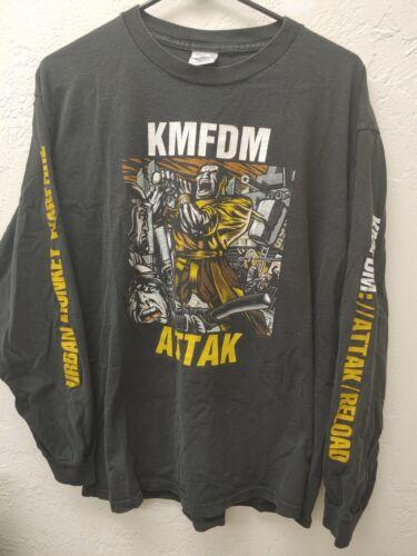 KMFDM Attack Longsleeve T-Shirt