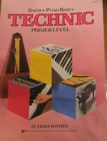 Bastien Piano Basics Technic Primer Level Wp215 Kjos