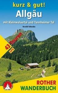 Court-amp-bien-Allgau-avec-Kleinwalsertal-et-Tannheimer-Tal-Rother-Wanderbuch