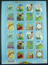 Brasilien Brazil 2014 Fußball WM FIFA World Cup Soccer ZD-Bogen 4127-38 MNH