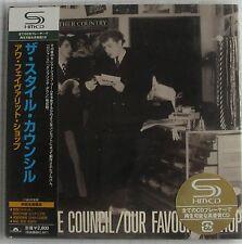 STYLE COUNCIL - Our Favourite Shop JAPAN SHM MINI LP CD NEU RAR! UICY-93580