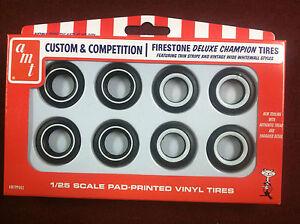AMT  1//25 Firestone Deluxe Champion Tire Pack AMTPP002