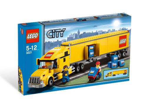 Lego City Truck 3221 For Sale Online Ebay