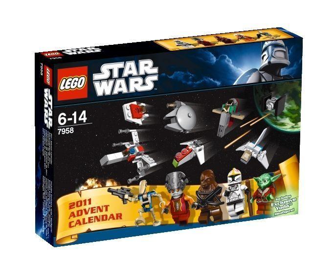 Lego Star Wars 7958 Adventskalender von von von 2011 NEU MISB 0667ec