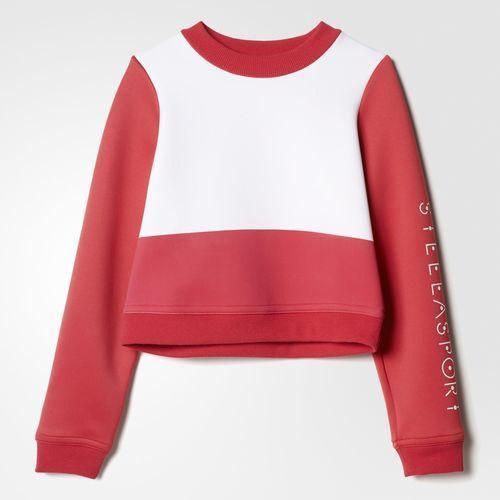 Adidas Women's Stellasport Spacer Sweatshirt Size Small FREE SHIPPING 946411